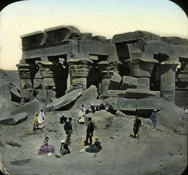 Amazing Hand-Tinted Photos of Egypt from the late 19th century