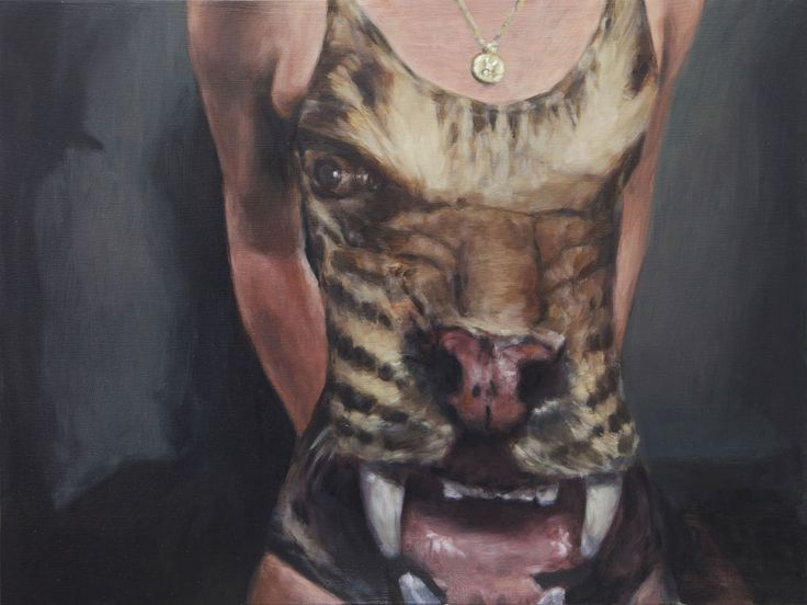 Damien Cadio - 2012 oil on canvas - 30 x 40 cm www.evahober.com