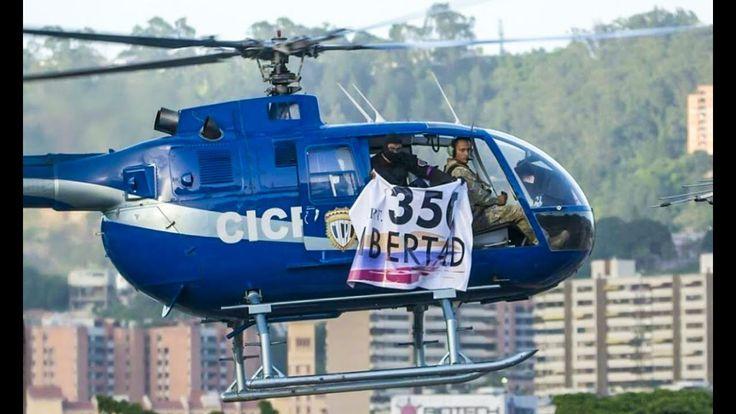 Venezuela #27Jun | Ataque desde helicóptero. Piloto Oscar Pérez contra Nicolás Maduro - VER VÍDEO -> http://quehubocolombia.com/venezuela-27jun-ataque-desde-helicoptero-piloto-oscar-perez-contra-nicolas-maduro    #27J | #27Junio | 27 de Junio de 2017  #cicpc  #oscarperez Los alrededores del Palacio de Miraflores se encuentran cerrados luego de que un helicóptero del Cuerpo de Investigaciones Científicas, Penales y Criminalísticas (Cicpc), sobrevolara la zona con una