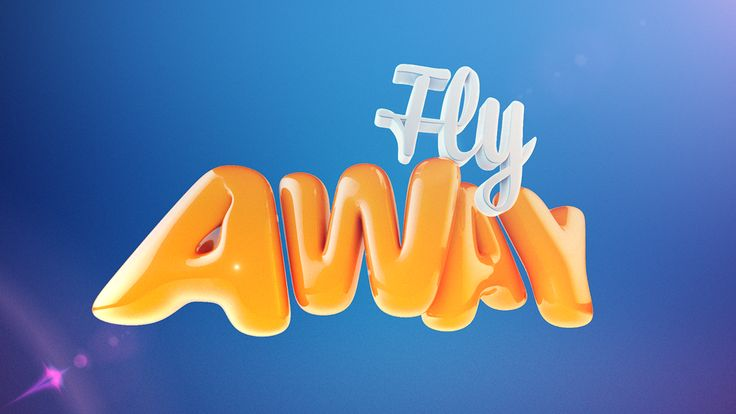 3D Text done in Cinema 4D with additional CC done in After Effects.