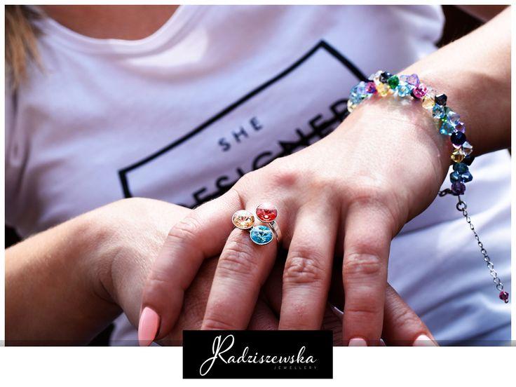 Piękna kolorowa biżuteria od JRadziszewska :) http://www.bizuteria-radziszewska.pl/bransoletka-br2-398-1k.html