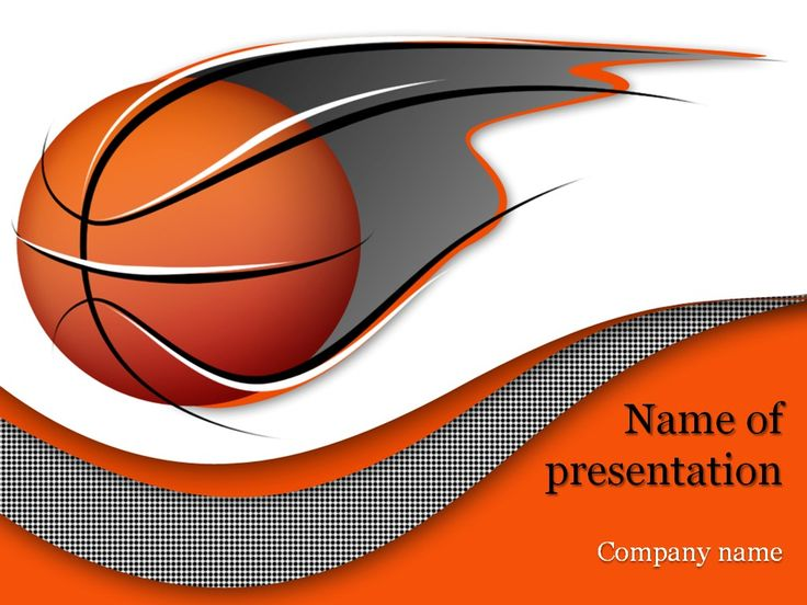 Basketball Game PowerPoint Template Templates Pinterest - basketball powerpoint template