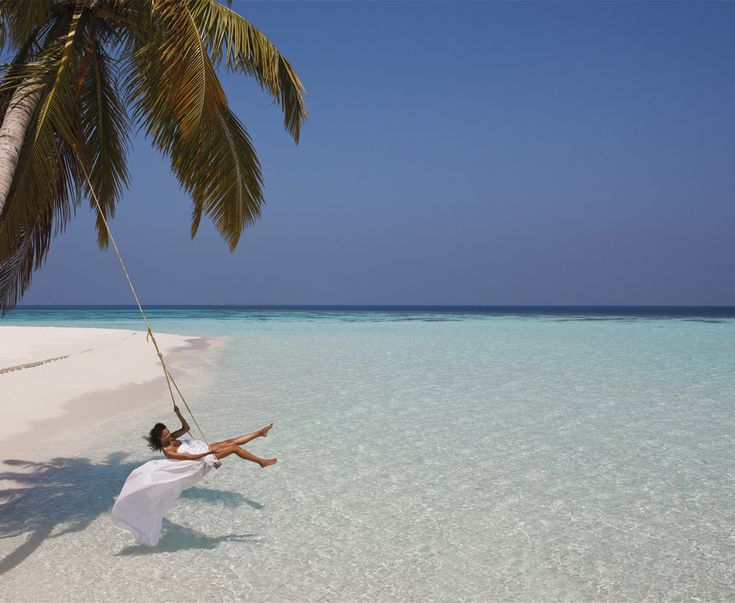 In a sea swing. | 30 Places You'd Rather Be Sitting Right Now