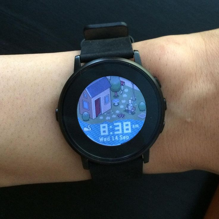how to change pebble watch face