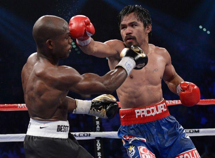 Las mejores imágenes de la polémica derrota de Pacquiao ante Bradley - Vivelohoy