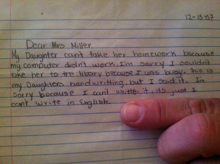 Hilarious Notes From Kids Who ArenT Afraid To Express