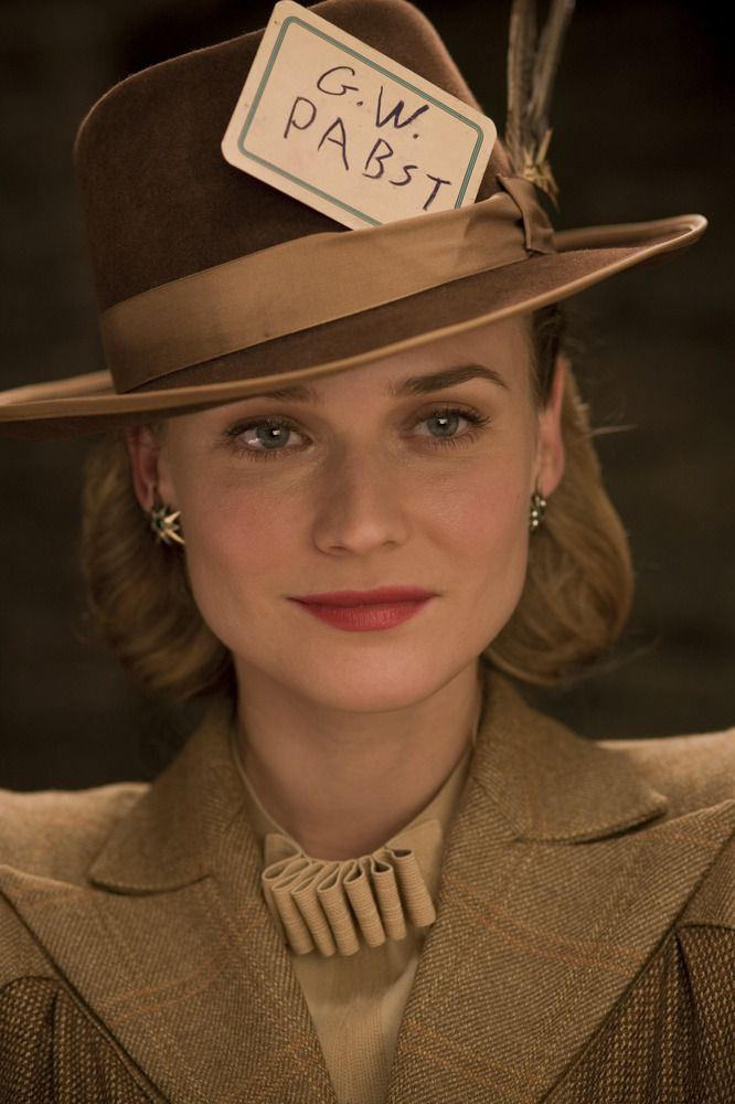 Diane Kruger in Inglourious Basterds.  For all your hat requirements visit www.eledahats.co.uk