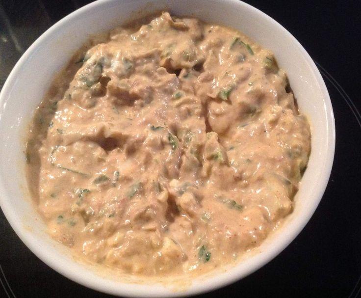 Rezept Thunfisch-Eier Brotaufstrich von Dr. Armin Windel - Rezept der Kategorie Saucen/Dips/Brotaufstriche