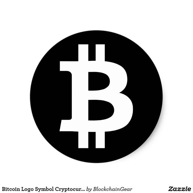 Bitcoin Logo Symbol Cryptocurrency Crypto Sticker | Zazzle ...