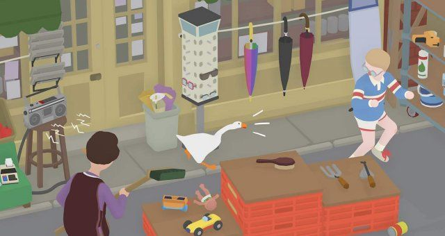 How To Get On Tv In The Untitled Goose Game