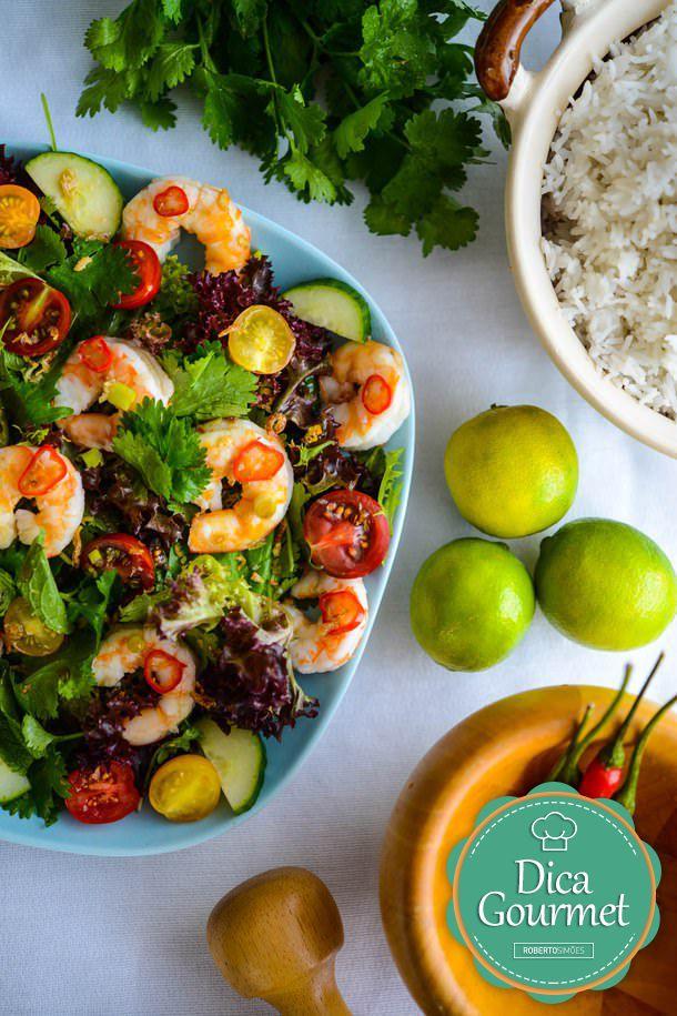 Receita do Dia: Salada tailandesa! | Roberto Simões