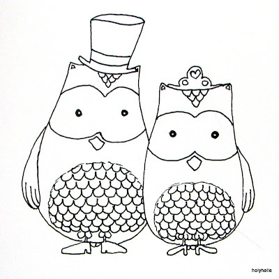 Cute Bride And Groom Owls Doodles Amp Drawing Ideas