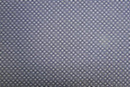 Katoenen stretch stof. blok/stip print/ Geschikt voor het maken van o.a. een jurk, jasje of rok. Bestel eenvoudig online! - Bas Bastiaans
