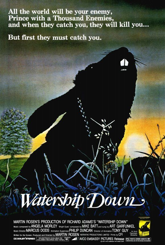 Watership Down 27x40 Movie Poster (1978)