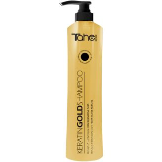 Keratin GOLD Shampoo 800ml Σαμπουάν με ενεργή κερατίνη και υγρό χρυσό!