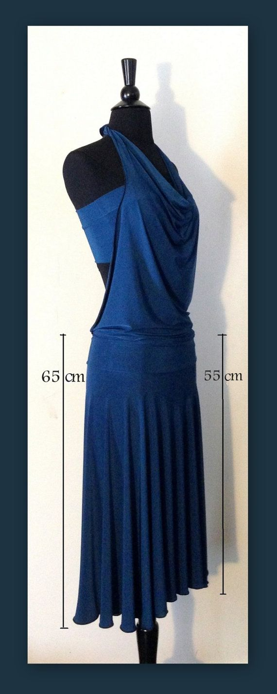 Tango dress from stretch fabric dress top by TangoAura on Etsy