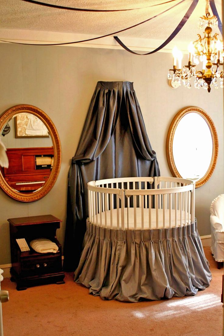 40 best The Beautiful and Unique Round Baby Cribs images on ...