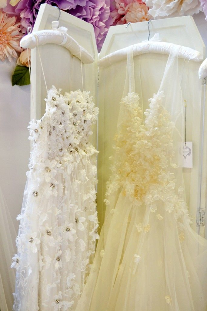 Floral bridal fashion trend www.freyarose.com