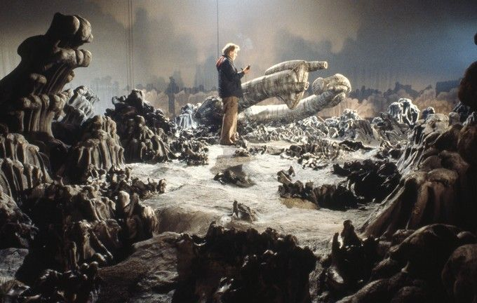 Photos from the set of Ridley Scott's classic film Alien