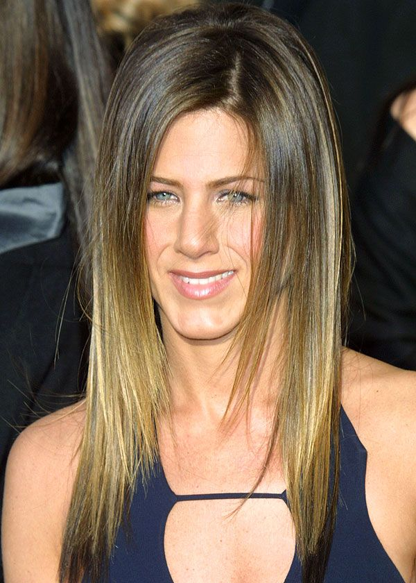 Jennifer Aniston... The pioneer of a great ombre!