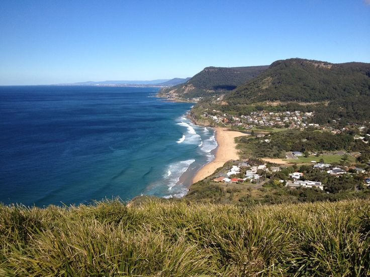 Wollongong coastline, New South Wales