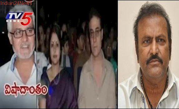 Hero Mohan Babu Responds On Jayasudha Husband Nitin Kapoor Suicide   TV5 News