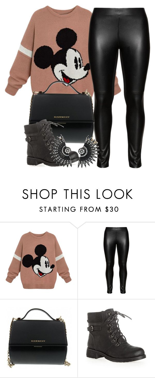 """""""DisneyWorld✨✈️"""" by izzeybellalaine ❤ liked on Polyvore featuring Studio, Givenchy and Avenue"""