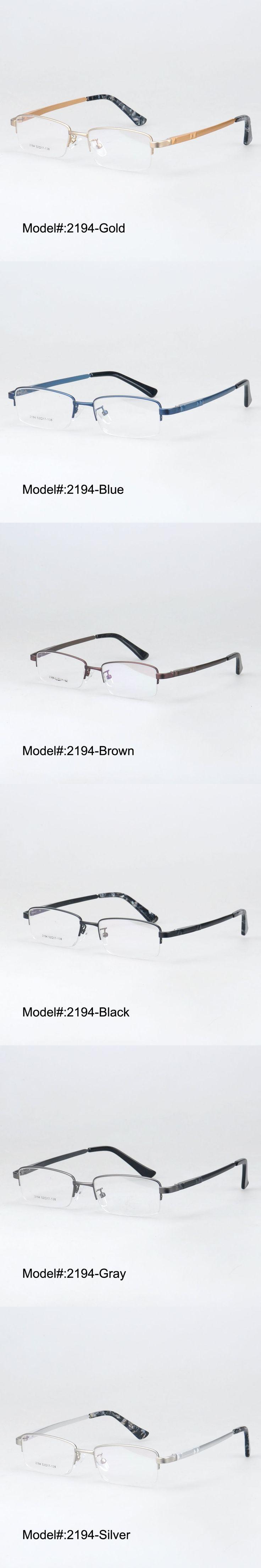 MY DOLI 2194 classical half rim high quality alloy temple eyewear glasses spectacles myopia optical frame eyewear eyeglasses