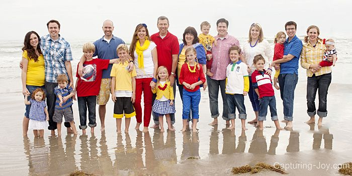 CUTE Extended Family Pictures Ideas!!!!