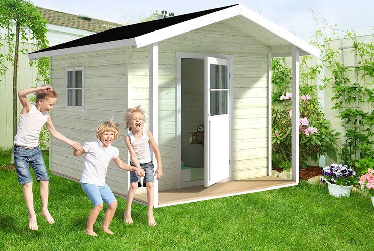 Lekeland i hagen på 1-2-3 - Byggmakker+