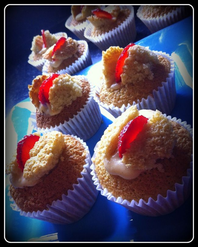 #glutenfree #gf FAIRY CAKES anyone? It's a pretty Thermomix #recipe from @meandmythermie