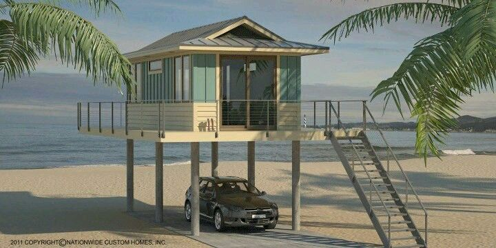 Tiny beach house Tiny House Exploration Pinterest Tiny beach