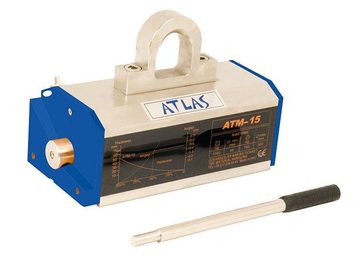 Atlas süper manyetik kaldıraç atm 15 model. 1500 kg yük taşıma kapasiteli mıknatıslı kaldıraç. #atlas #magnetic #lifter #miknatis #lifting #manyetik http://www.ozkardeslermakina.com/urun/miknatisli-super-manyetik-kaldirac-atlas-atm15/