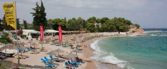 Agia Marina beach, Spetses