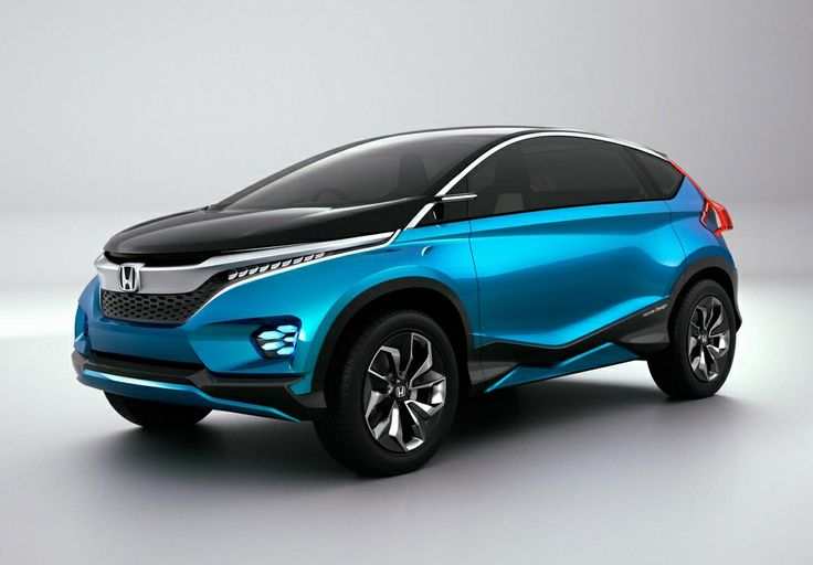 Photo: Picture 1 - Honda unveils Vision XS-1 crossover concept in New Delhi
