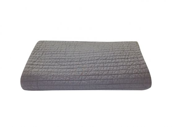 KAS Linear Grey Comforter, available at Forty Winks