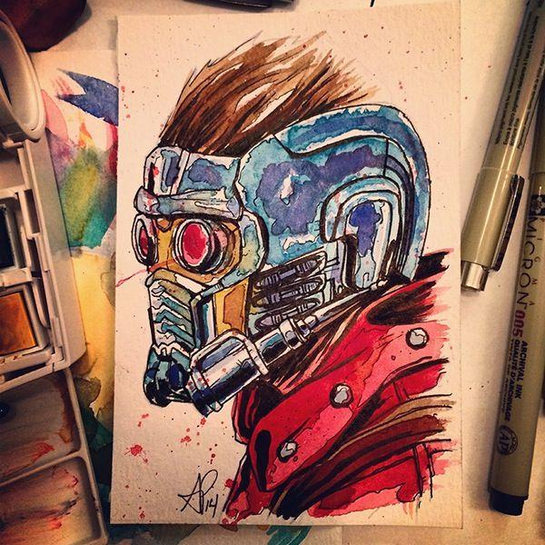 Geek Art Gallery: Paintings: Guardians of the Galaxy
