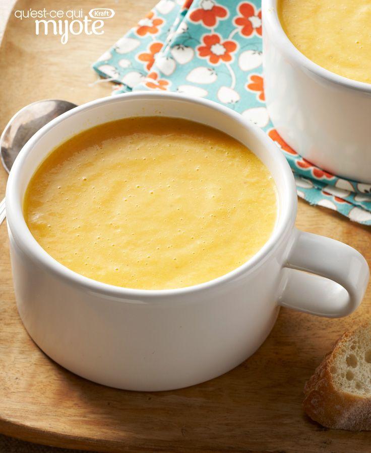 Soupe aux carottes et aux panais #recette