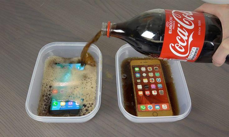 9 Urni Cocacola Test V Zmrzovalniku Galaxy S7 Edge Vs IPhone 6S