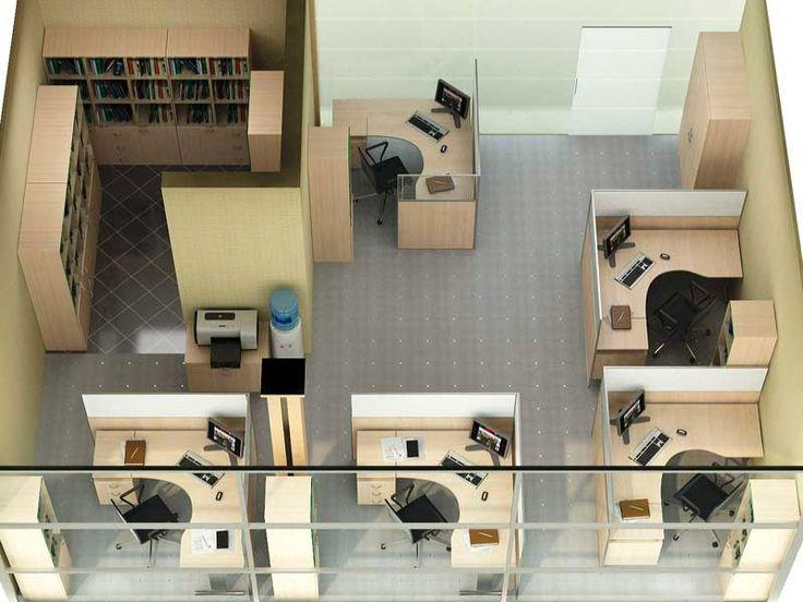 Дизайн проект маленького офиса