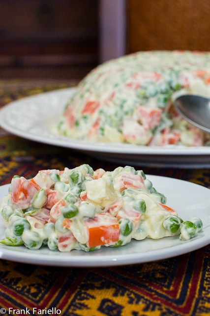 -*+Russian Salad, known in Russian as Салат Оливье or Salad Olivier, was once a common feature on festive tables all over the world. Russian salad Italian style  is distinguished by the use of Italian-style mayonnaise made with fruity olive oil. This ...