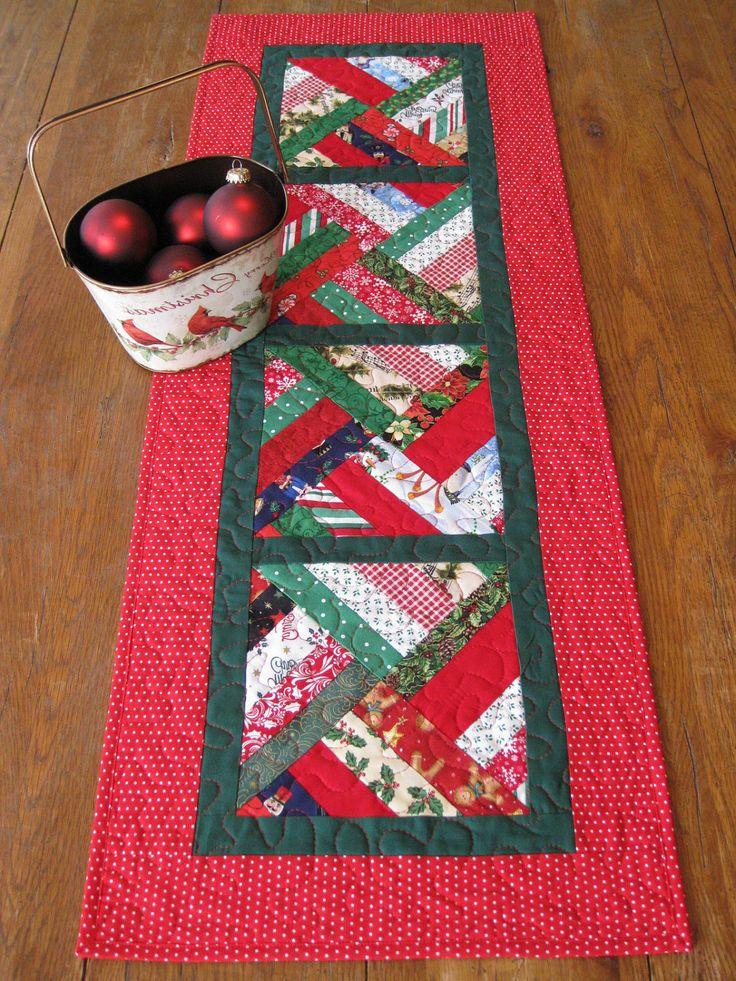 Tischl ufer f r weihnachten selber n hen mehr als deko tischl ufer pinterest geschafft - Deko fur weihnachtstisch ...
