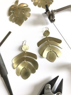 Online Course: Foundations in Metalsmithing: Statement Earrings