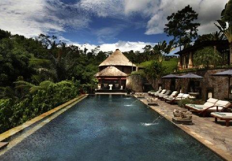 Ishwari Pool at Bagus Jati in Ubud