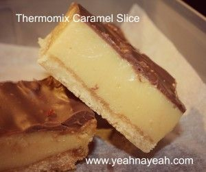 The Best Thermomix Caramel Slice - Yeah Na Yeah