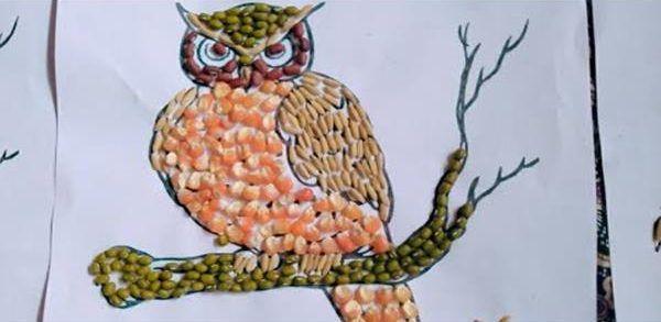 Gambar Mewarnai Burung Hantu Untuk Kolase - Buku Gambar ...