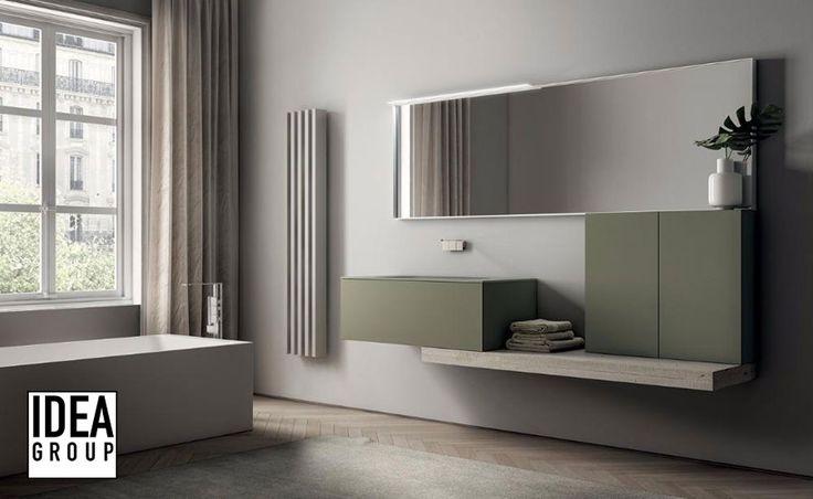 Oltre 25 fantastiche idee su bagni moderni su pinterest - Bagno verde salvia ...