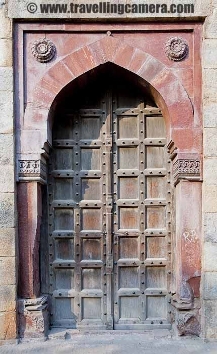 Purana Qila (Old Fort) - Relieved of its bloody past : Delhi, INDIA