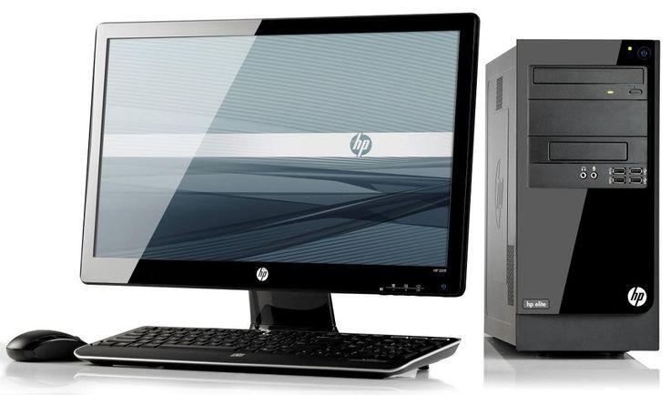 moderní stolní počítač