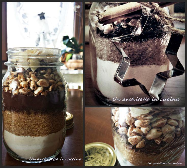 Carissimi lettori di Un Architetto in Cucina quest'anno vorrei augurarvi un Felice Natale postando questa originale idea regalo, i biscotti in barattolo!